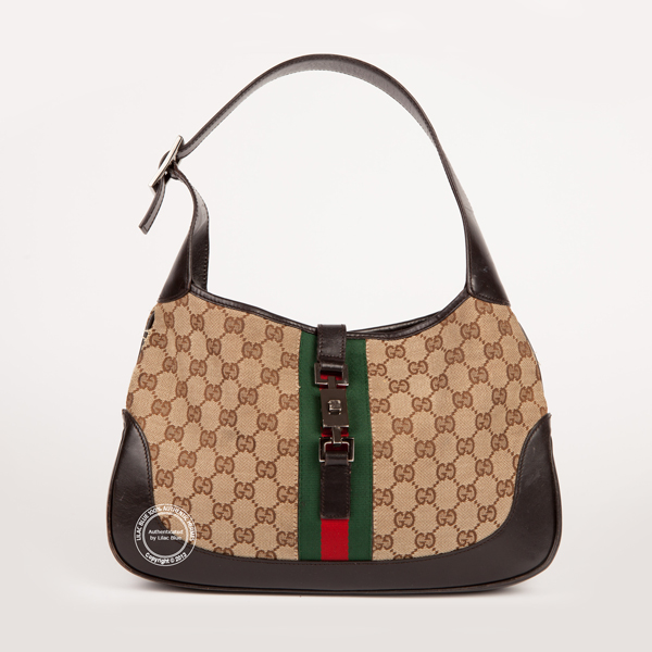 Gucci Jackie O Mini Hobo Bag Canvas