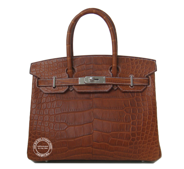 Fauve Barenia 30cm Birking in Matt Alligator wsh 600