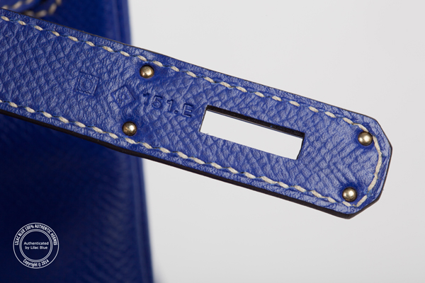 Hermes Blue Electric Epsom Birkin 30cm Palladium Hardware