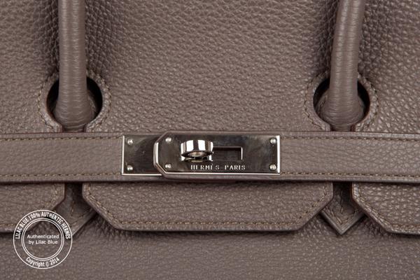 small brown handbag - hermes birkin bag 35cm etain clemence palladium hardware, replica ...