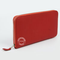 Hermes Berne Wallet in Red 600