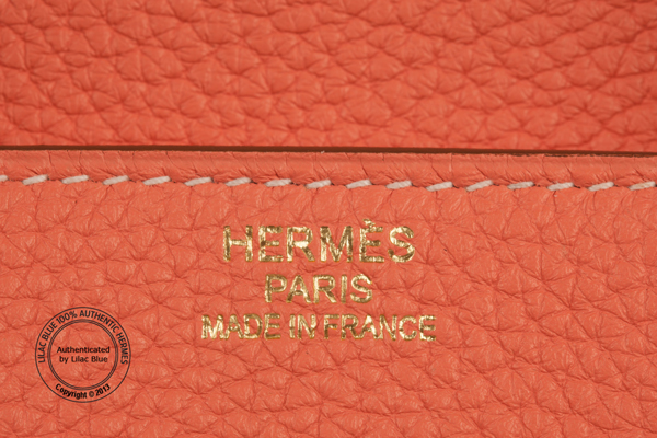 how much does a hermes birkin bag cost - 40cm Crevette Pink Birkin. Togo, Gold - Lilac Blue
