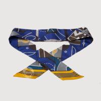 Twilly Sport, Jaune D'Or-Bleu Nuit-Brun