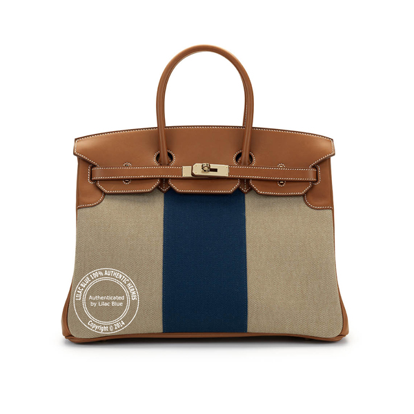 hermes birkin canvas & leather