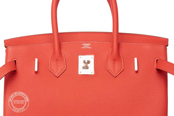 hermes handbags discount - 30cm Rouge Pivoine Birkin. Togo, Palladium - Lilac Blue