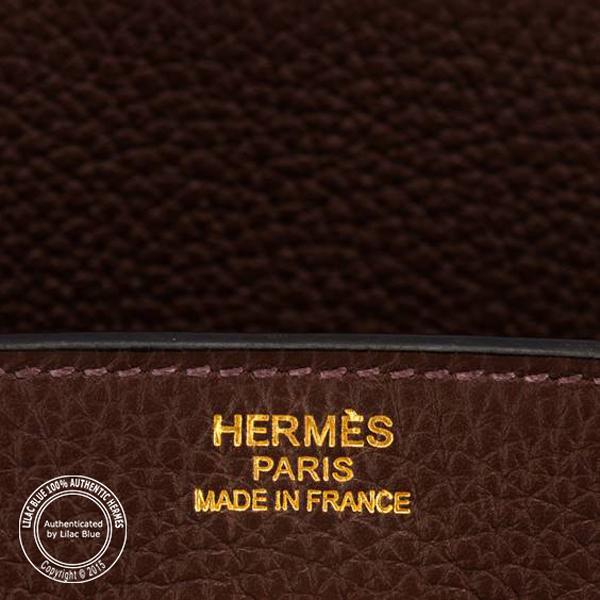 a09789682f4 Hermes Birkin 40cm Cacao Togo GHW - Lilac Blue