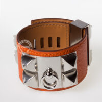 Collier de Chien Orange
