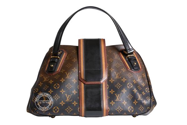 42cm Louis Vuitton Special Edition with Black Strap back - Lilac Blue cc010e9ae7a8e