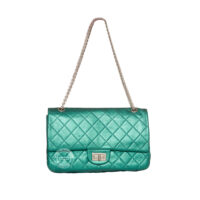 Chanel Classic Flap Bag Turquoise