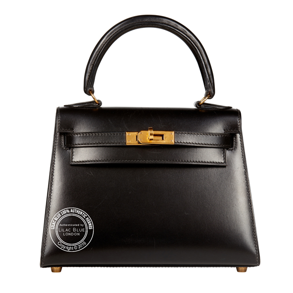 Hermes Rouge Vif Ostrich Mini Kelly Pochette Gold Hardware