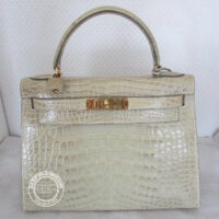 28cm Himalaya Kelly in Alligator with Gold
