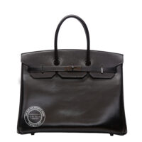 35cm So Black Birkin Box