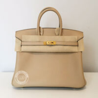 25cm Trench Birkin in Swift with Gold