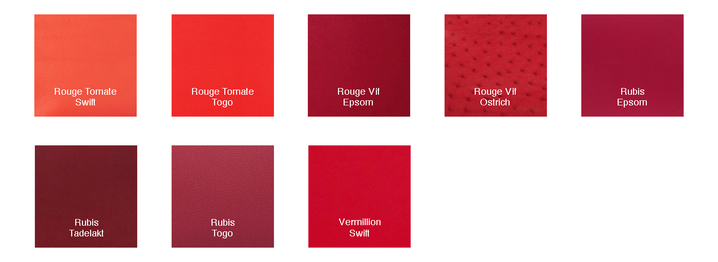 Swatches Red3