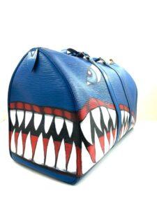 LV Keepall shark